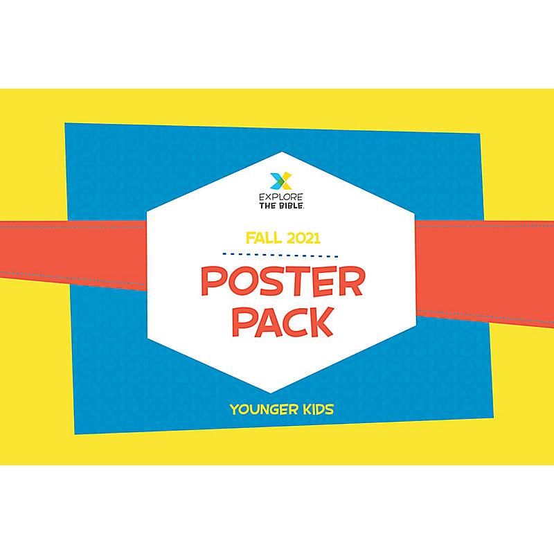 Explore the Bible: Younger Kids Poster Pack - Fall 2021