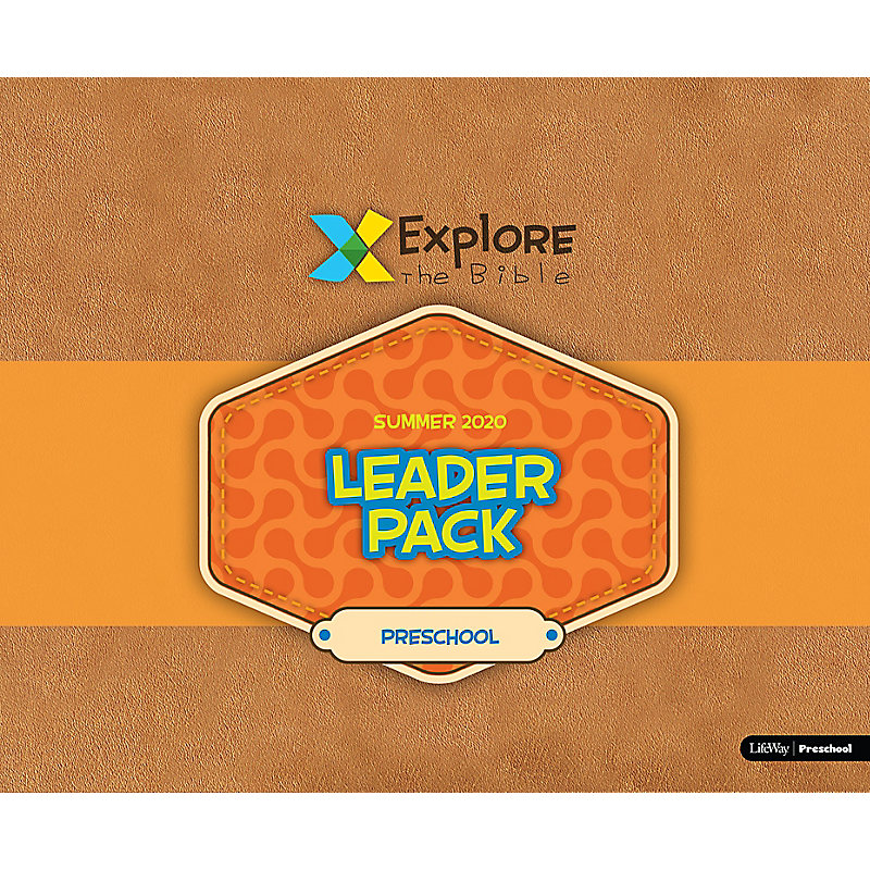 Explore the Bible: Preschool Leader Pack - Summer 2020