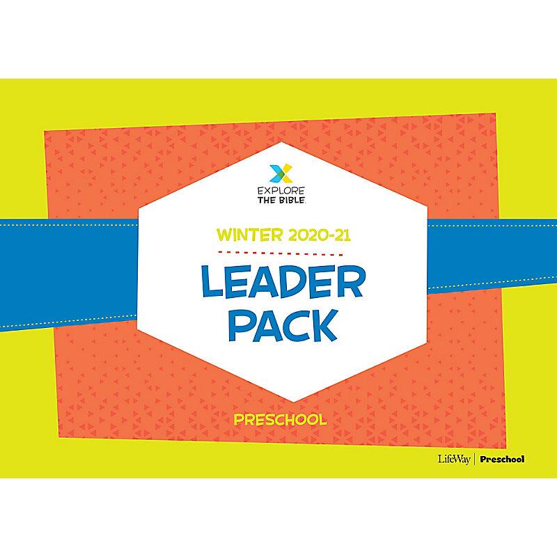 Explore the Bible: Preschool Leader Pack - Winter 2021