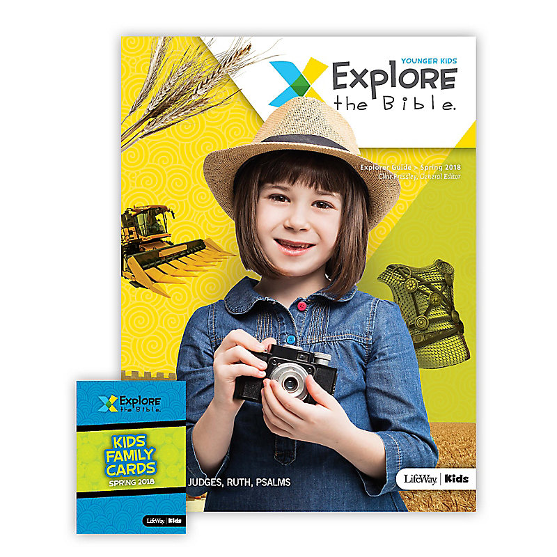 Explore the Bible: Younger Kids Explorer Pack - Spring 2018