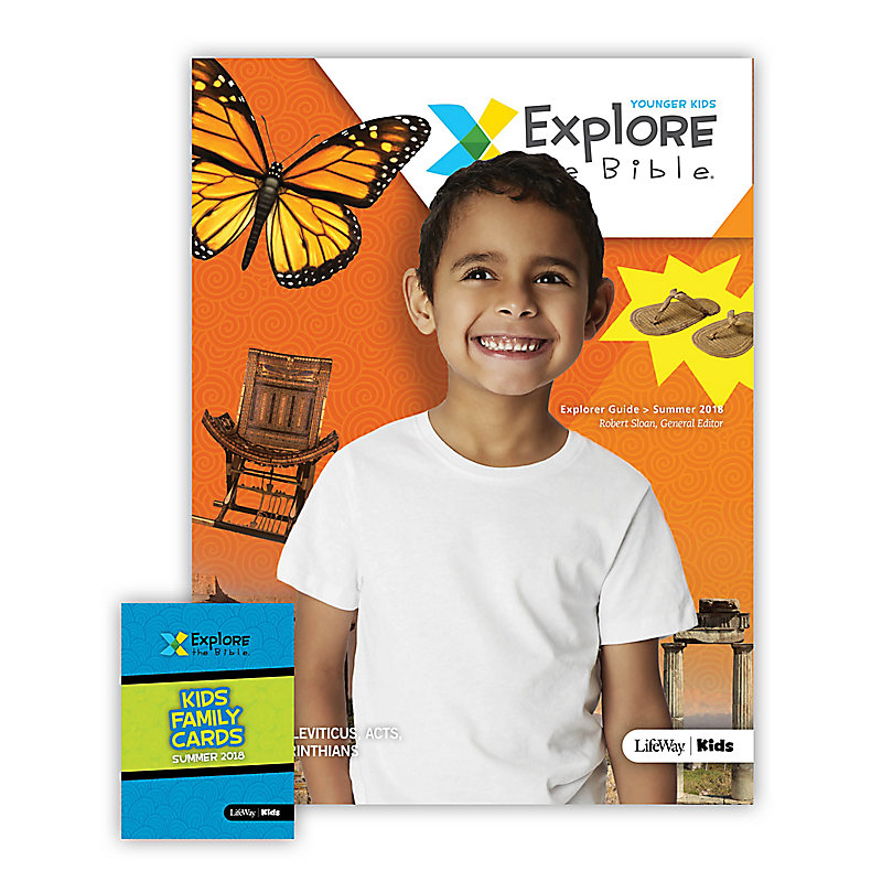 Explore the Bible: Younger Kids Explorer Pack Summer 2018
