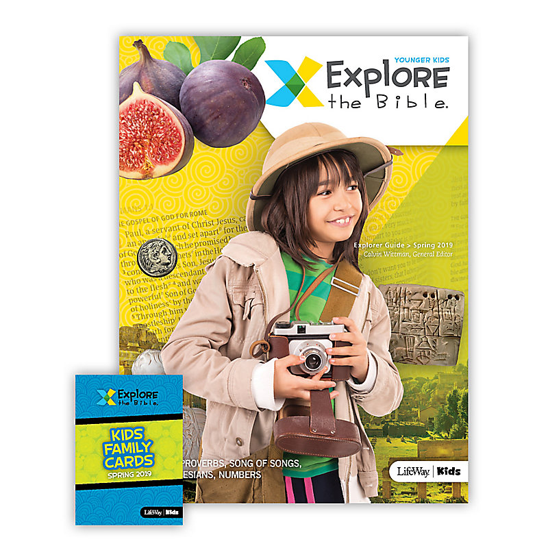 Explore the Bible: Younger Kids Explorer Pack - Spring 2019