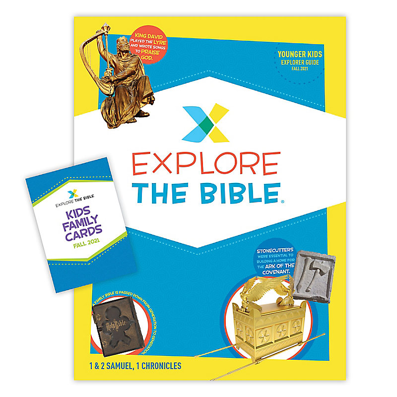 Explore the Bible: Younger Kids Explorer Pack - Fall 2021