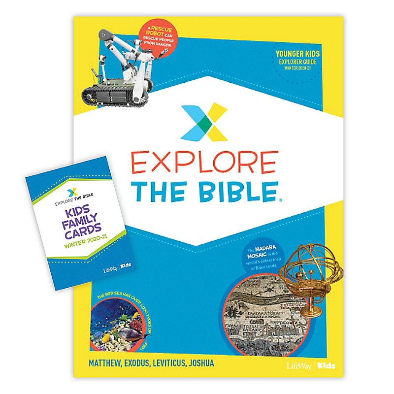 Explore the Bible: Younger Kids Explorer Pack - Winter 2021