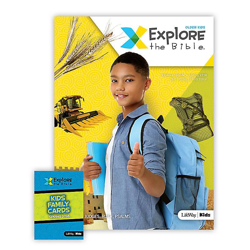 Explore the Bible: Older Kids Explorer Pack - Spring 2018