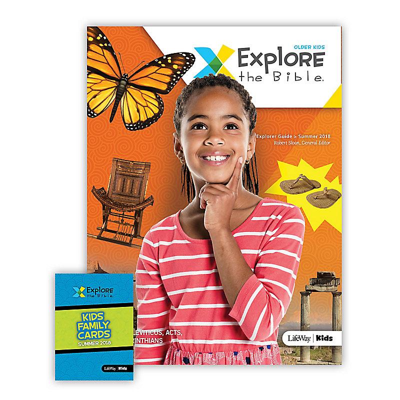 Explore the Bible: Older Kids Explorer Pack Summer 2018