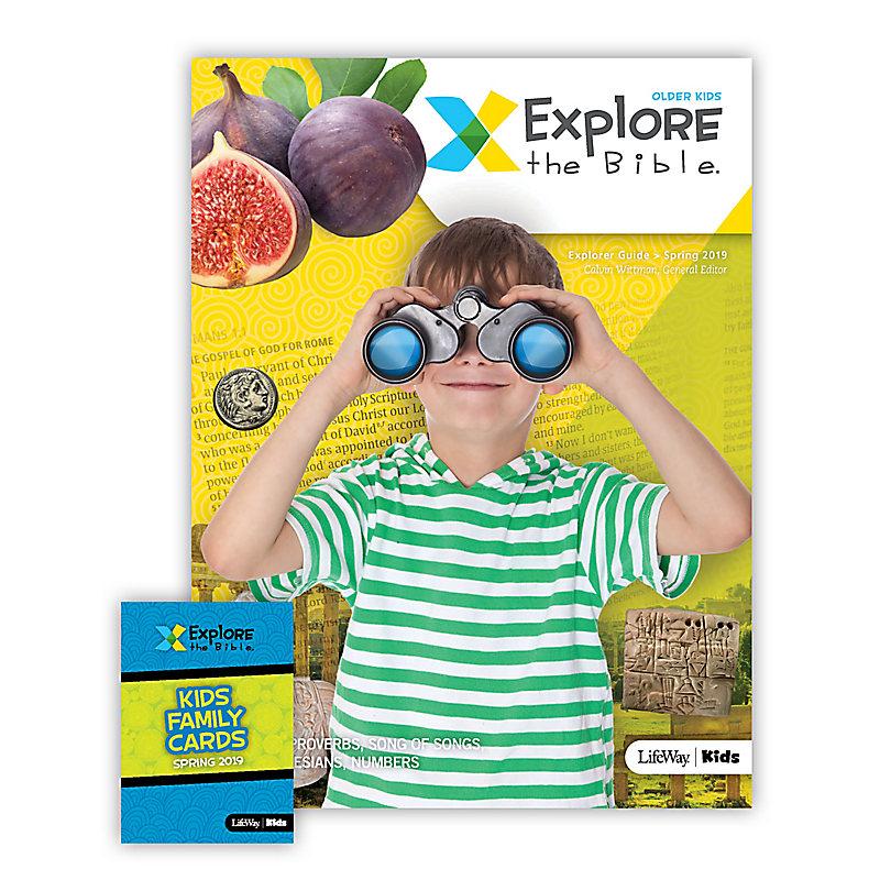 Explore the Bible: Older Kids Explorer Pack - Spring 2019