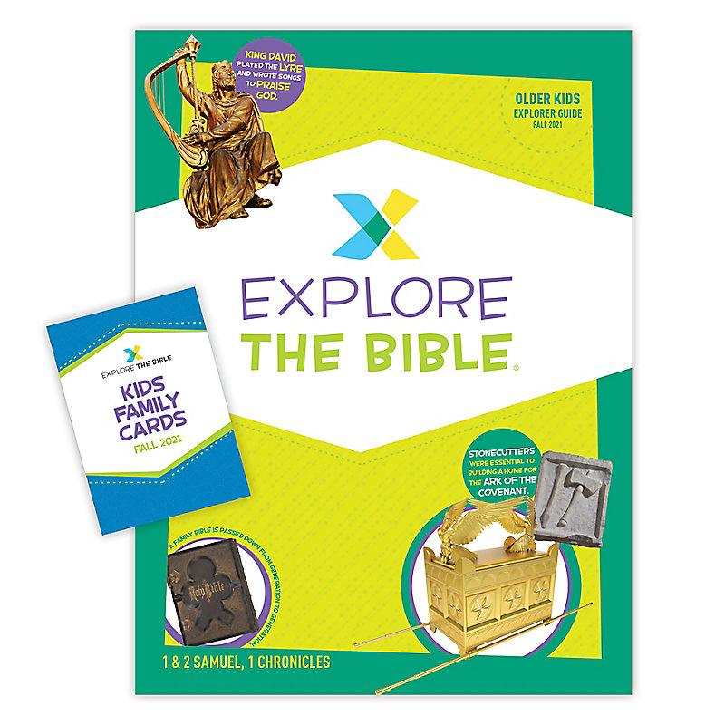 Explore the Bible: Older Kids Explorer Pack - Fall 2021