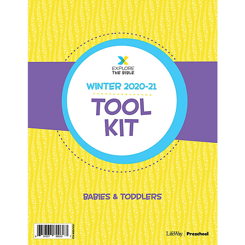 Explore the Bible: Babies and Toddlers Tool Kit - Winter 2021