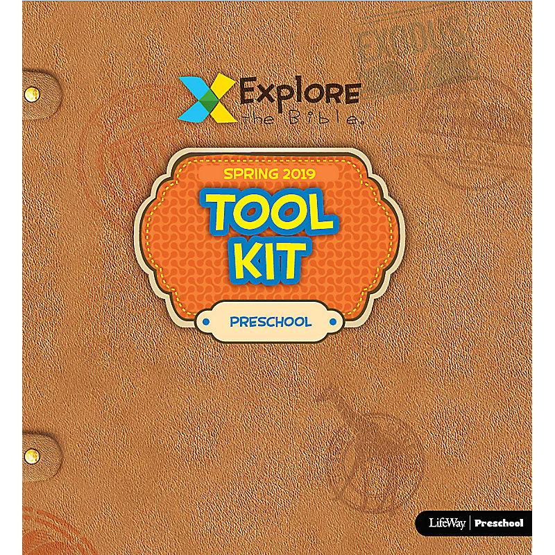 Explore the Bible: Preschool Tool Kit - Spring 2019