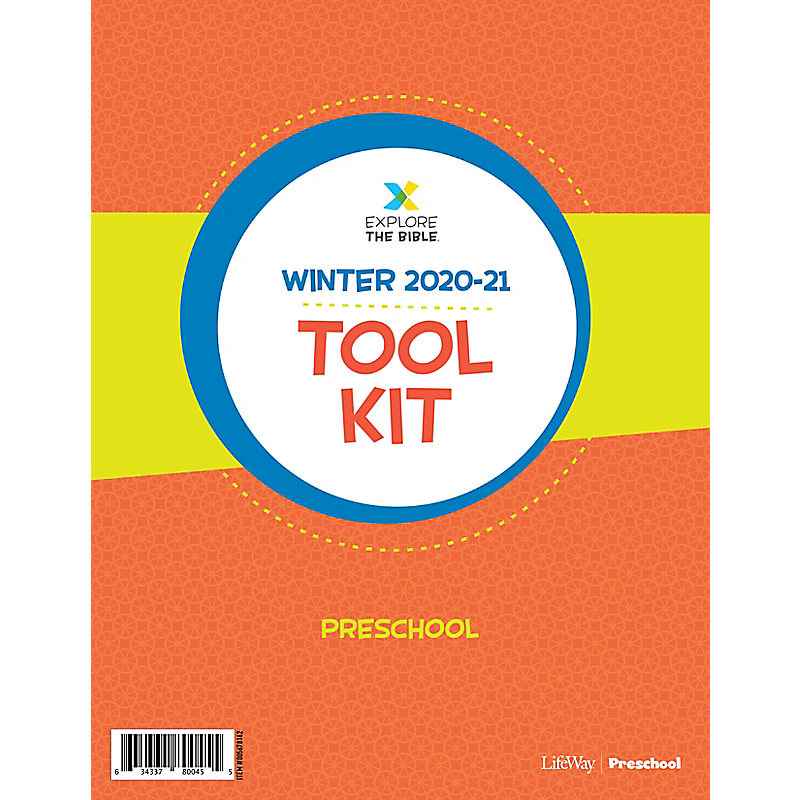 Explore the Bible: Preschool Tool Kit - Winter 2021