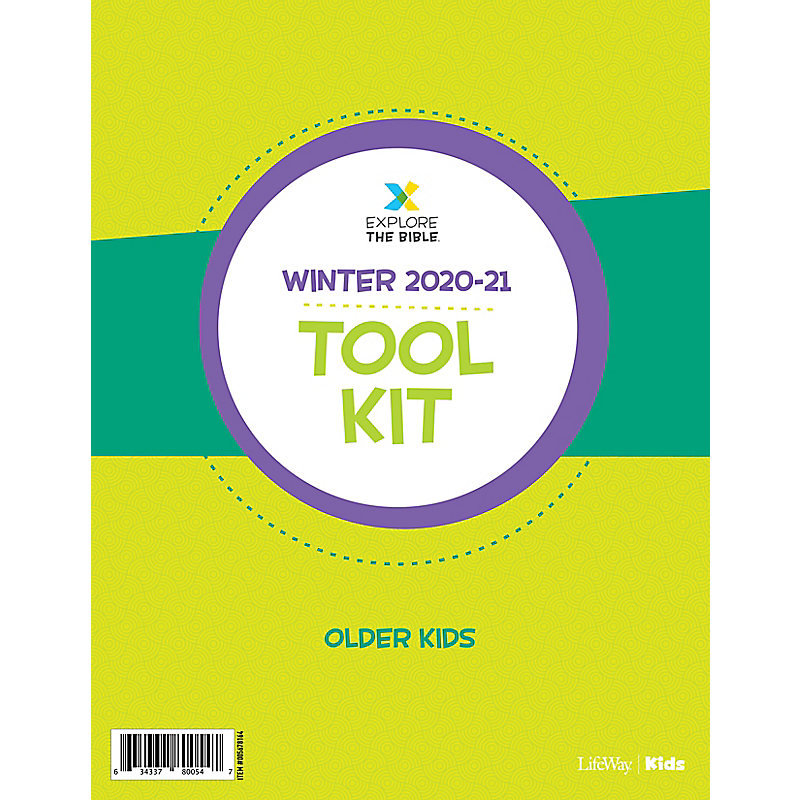 Explore the Bible: Older Kids Tool Kit - Winter 2021