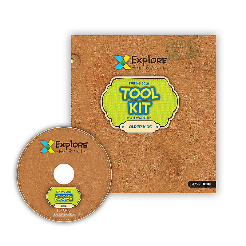 Explore the Bible: Older Kids Tool Kit with Worship - Spring 2018