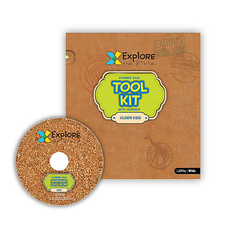 Explore the Bible: Older Kids Tool Kit with Worship Summer 2018