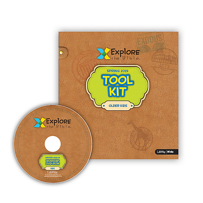 Explore the Bible: Older Kids Tool Kit with Worship - Spring 2019