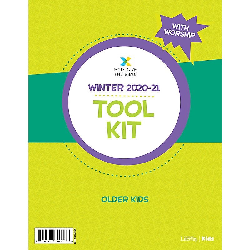 Explore the Bible: Older Kids Tool Kit with Worship - Winter 2021