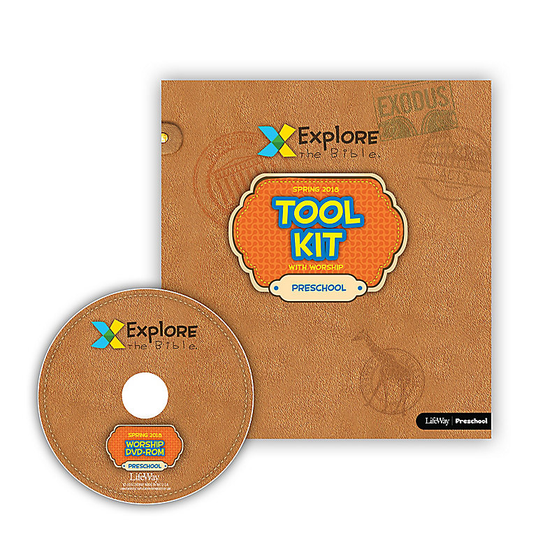 Explore the Bible: Preschool Tool Kit with Worship - Spring 2018