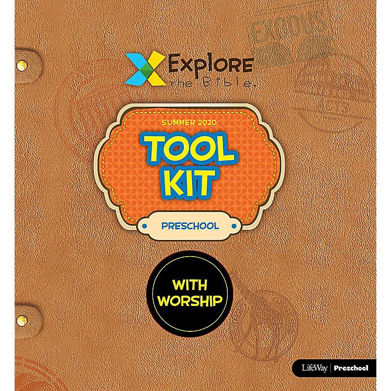 Explore the Bible: Preschool Tool Kit with Worship - Summer 2020