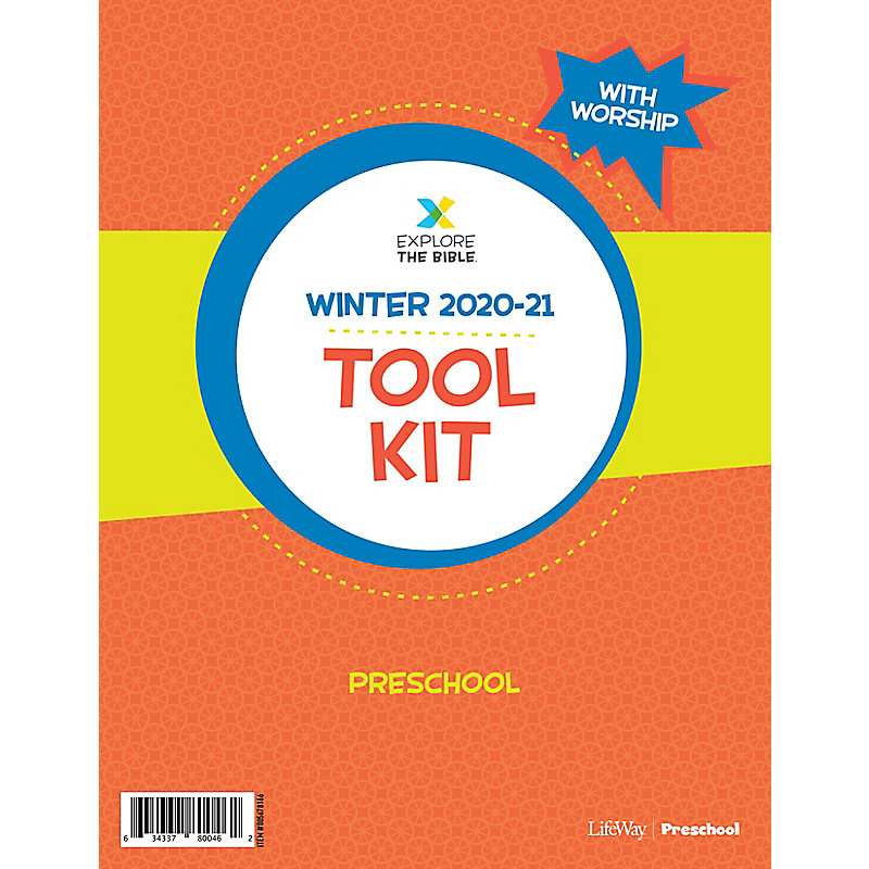 Explore the Bible: Preschool Tool Kit with Worship - Winter 2021