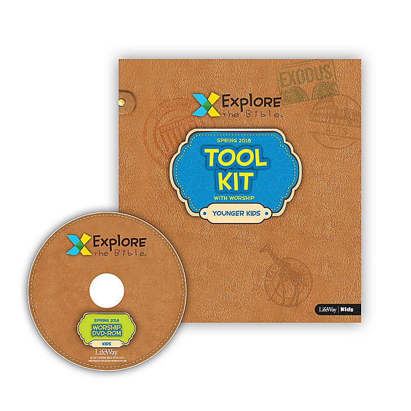 Explore the Bible: Younger Kids Tool Kit with Worship - Spring 2018