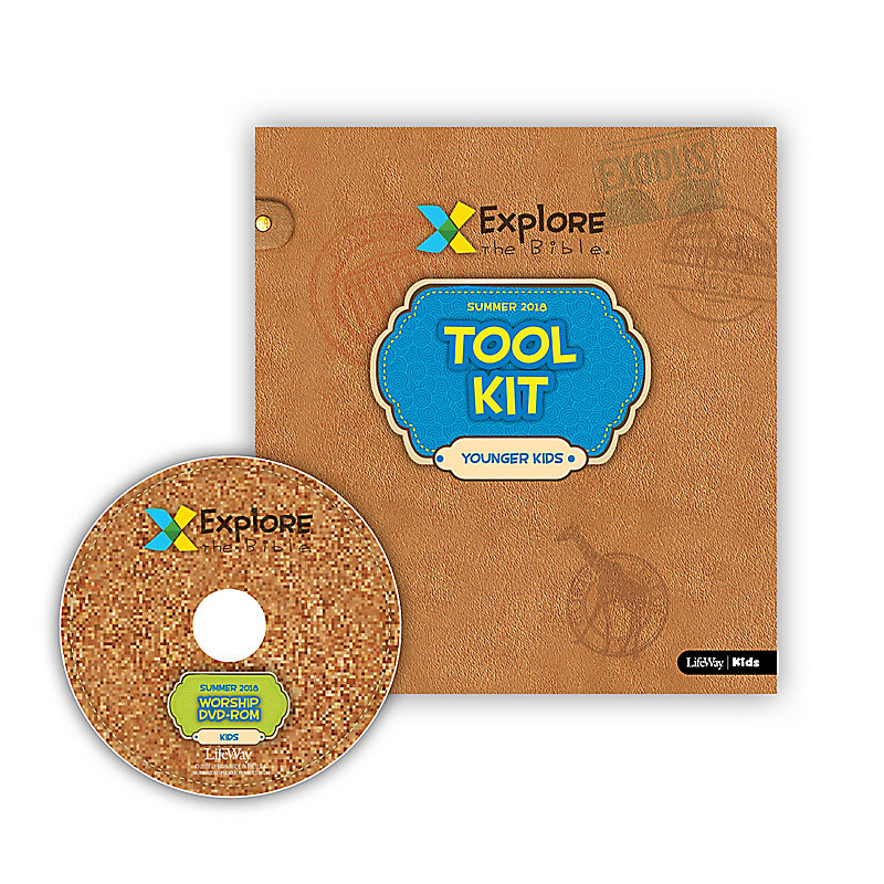 Explore the Bible: Younger Kids Tool Kit with Worship Summer 2018