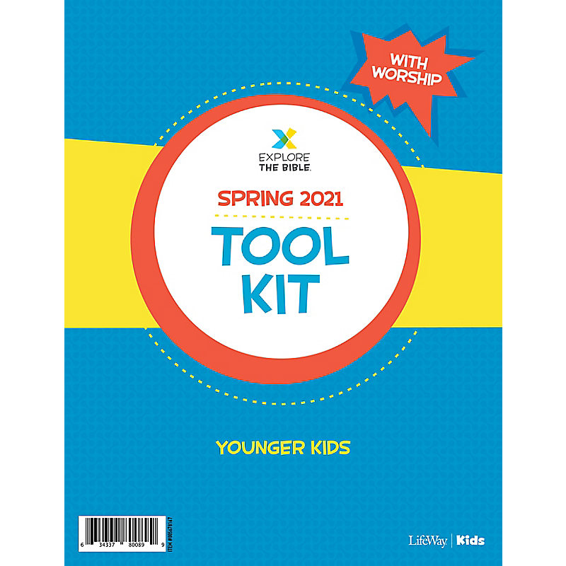 Explore the Bible: Younger Kids Tool Kit with Worship - Spring 2021