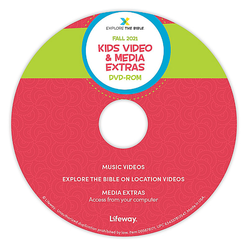 Explore the Bible: Kids Video and Media Extras - Fall 2021