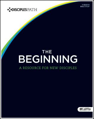 Cover of Disciples Path Bible study The Beginning.