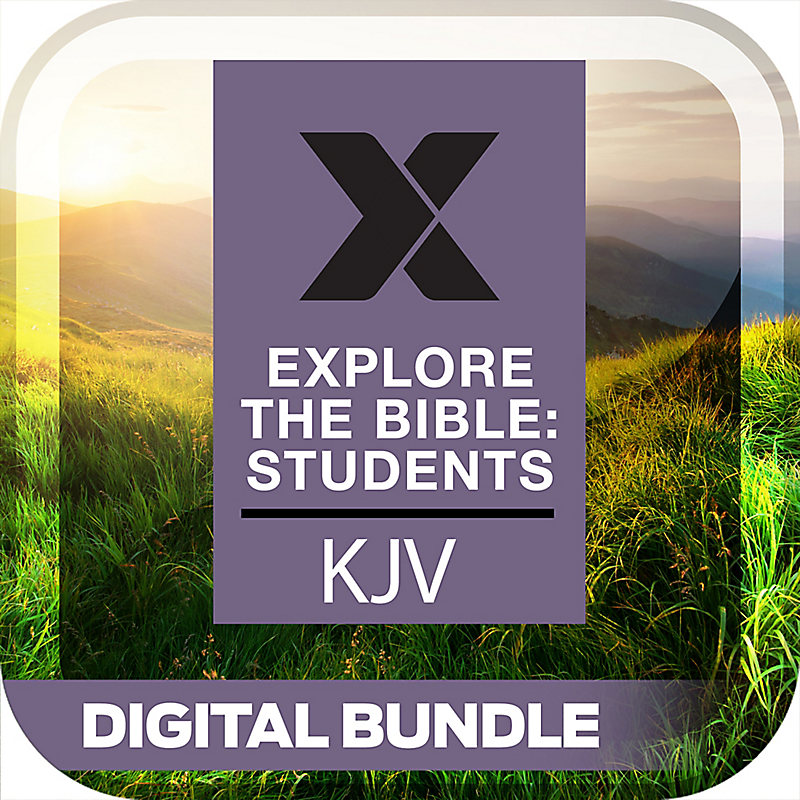 Explore the Bible: Students Daily Discipleship Guide/Leader Guide Digital Bundle Summer 2019