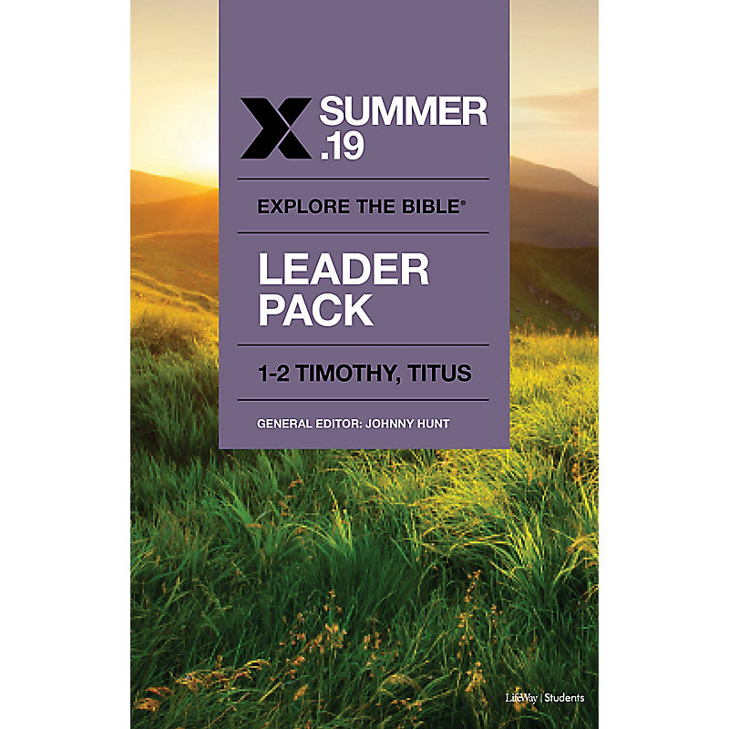 Explore the Bible: Students Leader Pack - Summer 2019