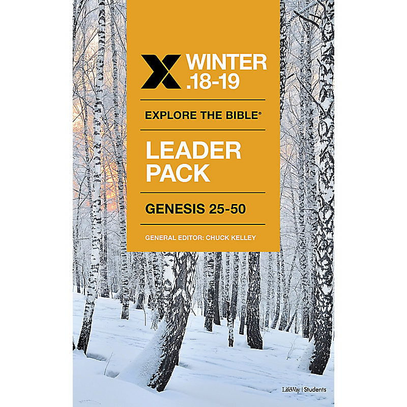 Explore the Bible: Students Leader Pack - Winter 2019