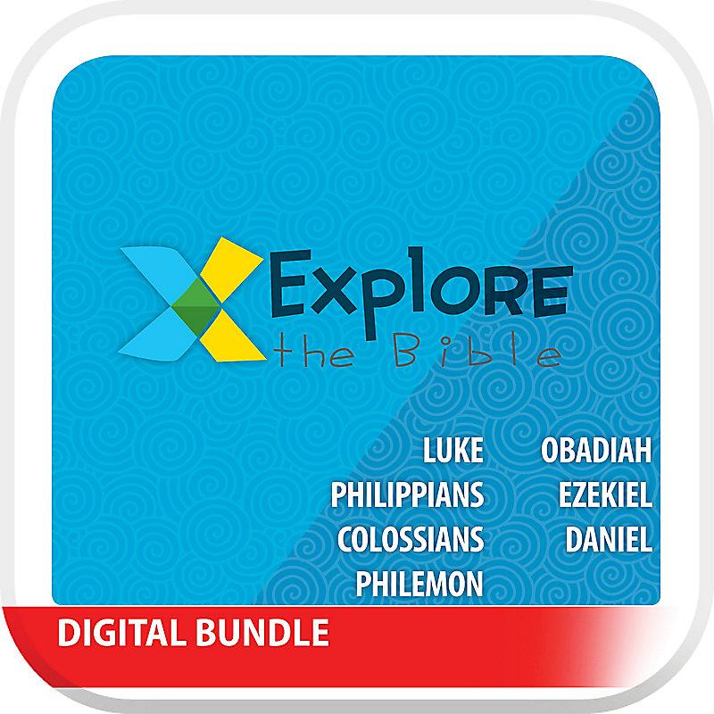 Explore the Bible: Preschool Leader Pack - Winter 2020