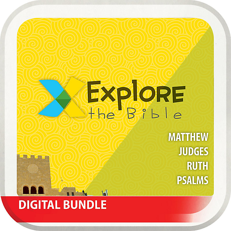 E-Explore the Bible: Preschool Music and Print Extras Bundle - Spring 2018