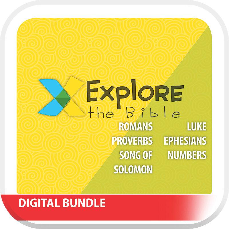 Explore the Bible: Kids Enhanced Digital Video Bundle - Spring 2019