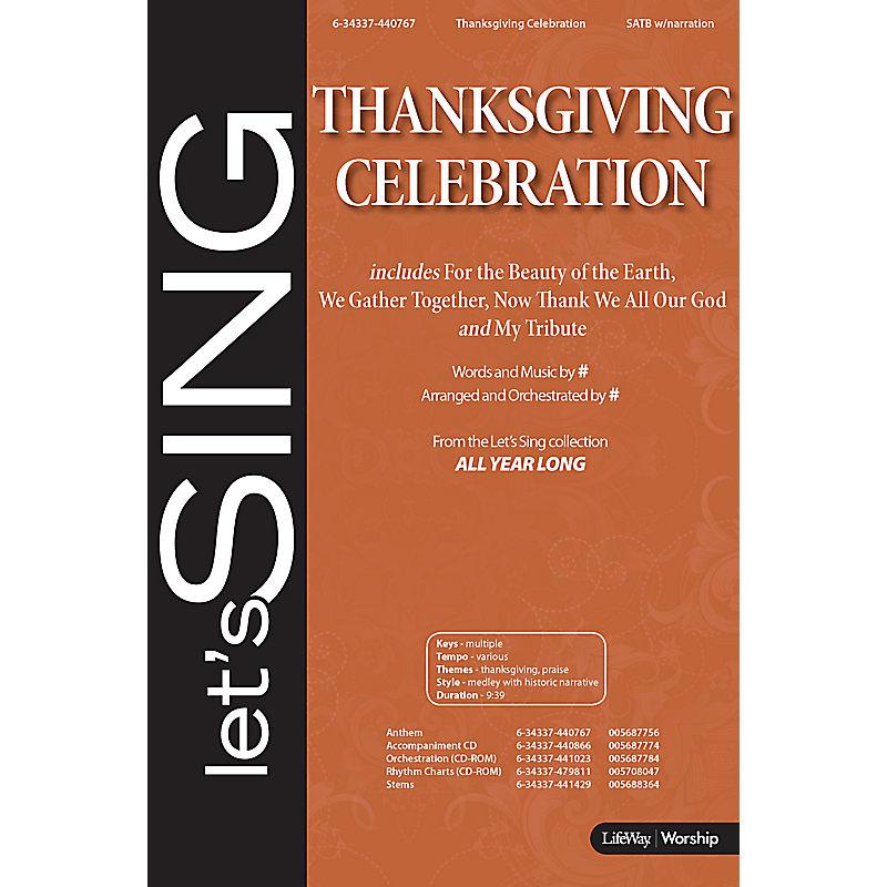 Thanksgiving Celebration - Anthem (Min. 10)