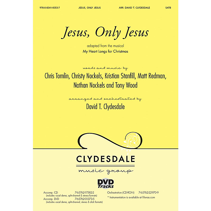 Jesus, Only Jesus - Anthem Accompaniment DVD