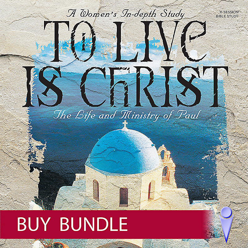 To Live is Christ - Video Bundle - Individual Use - Buy