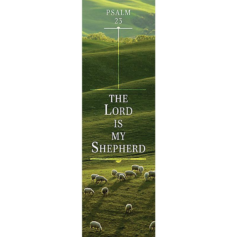 23rd Psalm - Bookmark (Pkg 25) General Worship