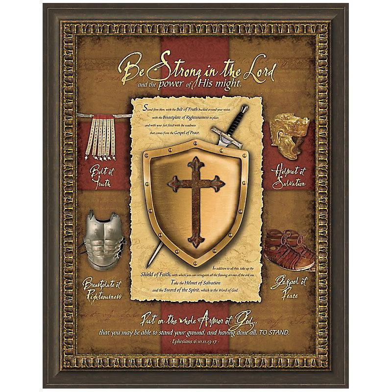 Full Armor of God Framed Print - LifeWay