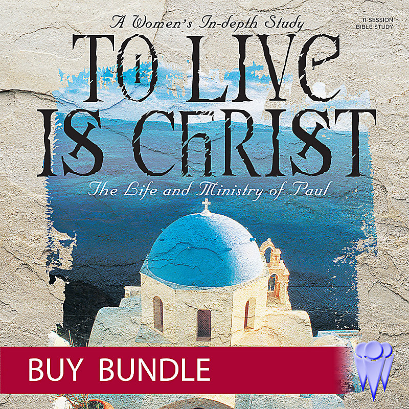 To Live is Christ - Video Bundle - Group  Use - Buy