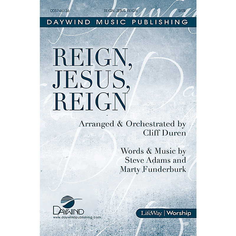 Reign, Jesus, Reign - Downloadable Listening Track
