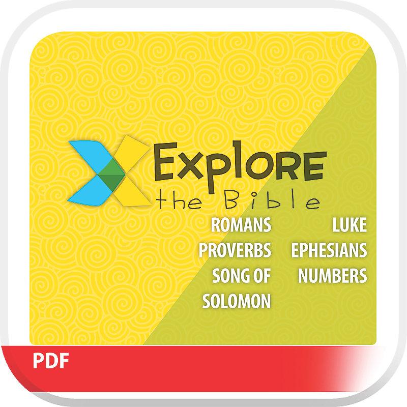 Explore the Bible: Older Kids Leader Guide - Spring 2019