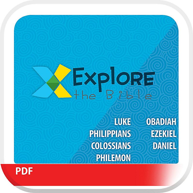 Explore the Bible: Preschool Leader Guide - Winter 2020