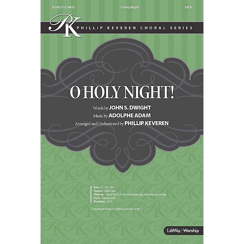 O Holy Night! - Anthem Accompaniment CD