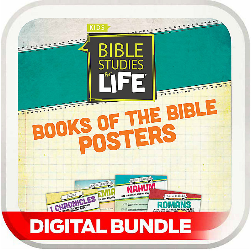 Bible Studies for Life: Kids Books of the Bible Posters - Digital