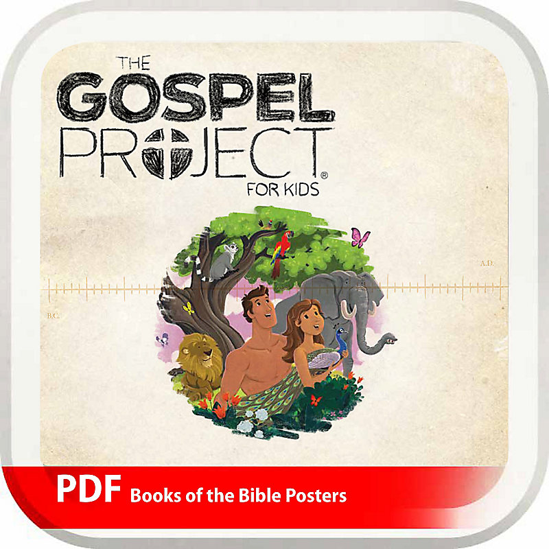 The Gospel Project for Kids: Books of the Bible Posters - Digital