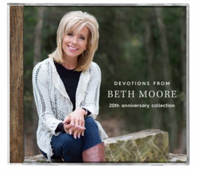 beth moore, devotions, cd, drive time devotions