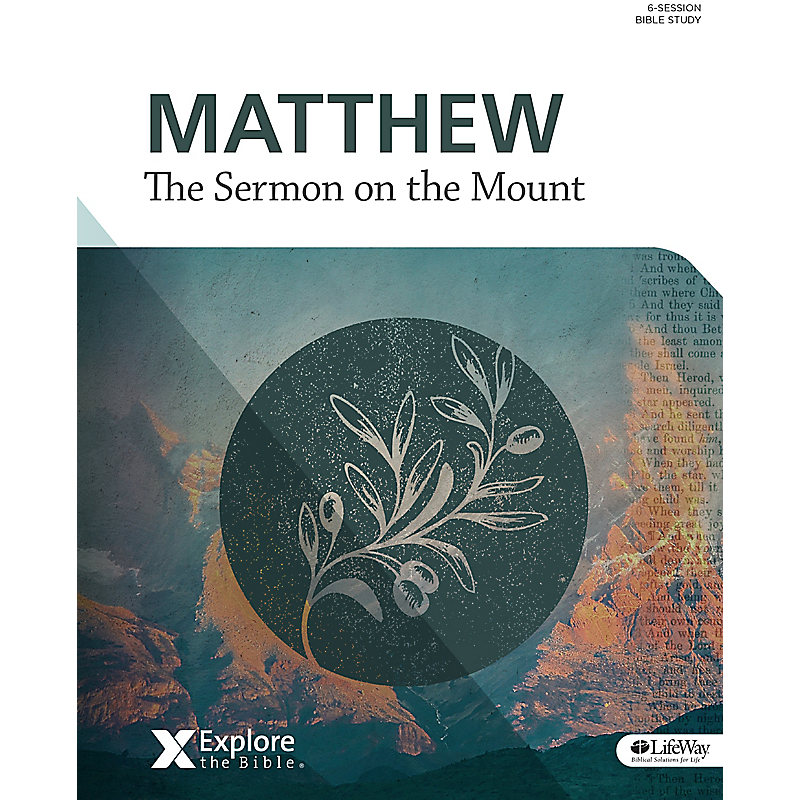 Matthew - Sermon on the Mount Bible Study Book