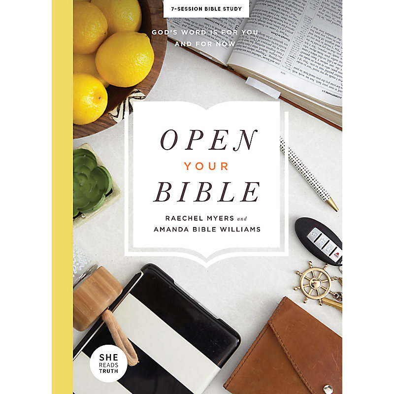 Open Your Bible - Bible Study Book