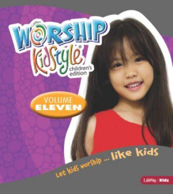 Boys worship teen girl